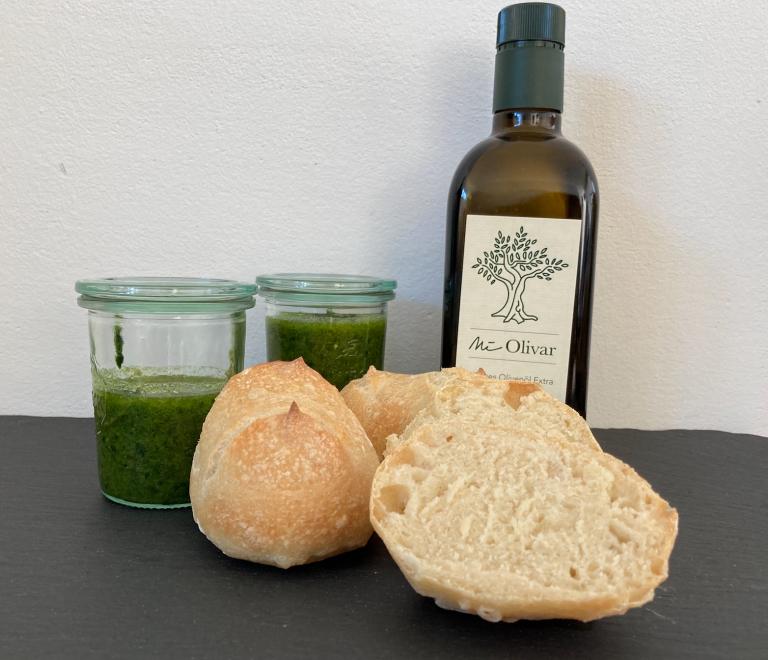 Panecillos mit Mi Olivar Olivenöl
